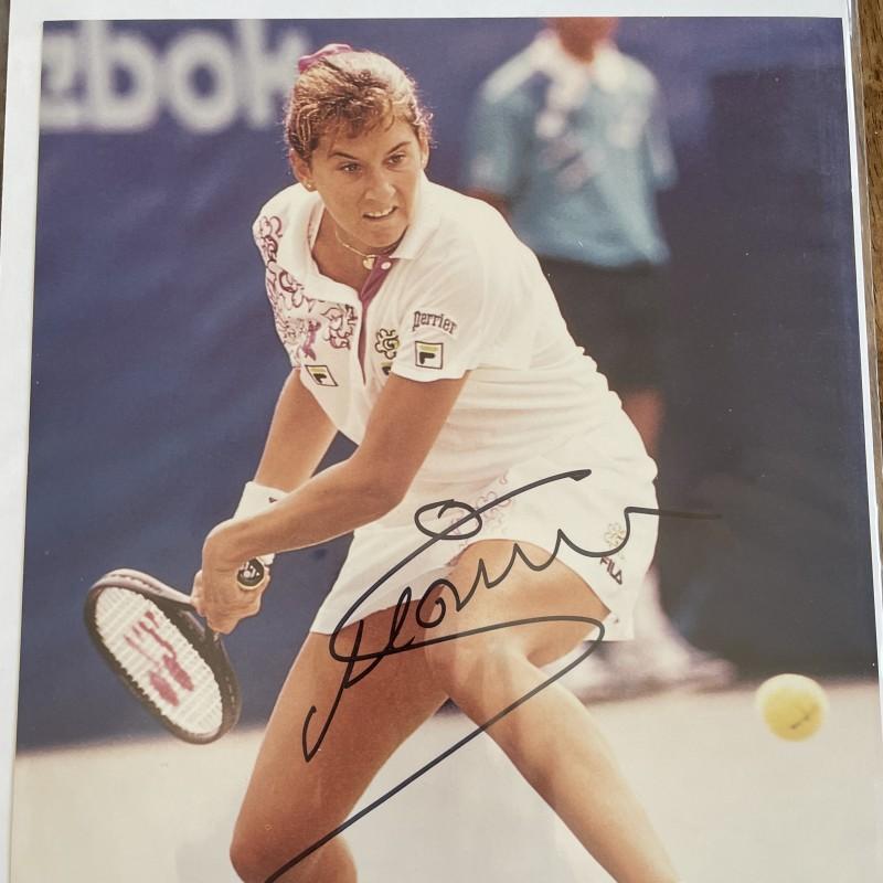 Monica Seles Signed Photo