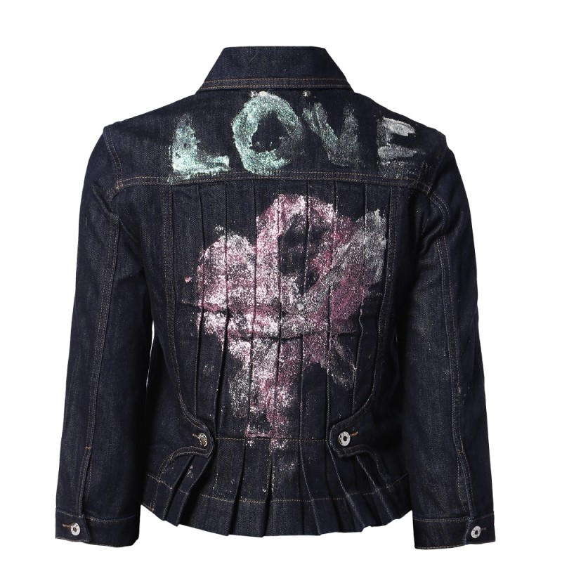 Courtney Love's Customized Diesel Jacket