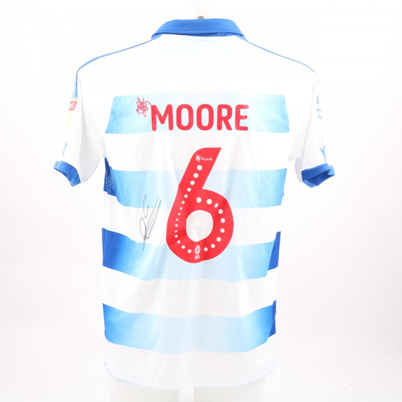 Moore's Match-Worn Reading FC Signed Poppy Home Shirt