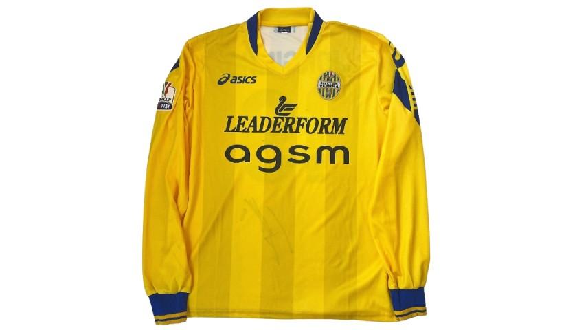 Jorginho's Worn and Signed Shirt, Inter-Verona 2012