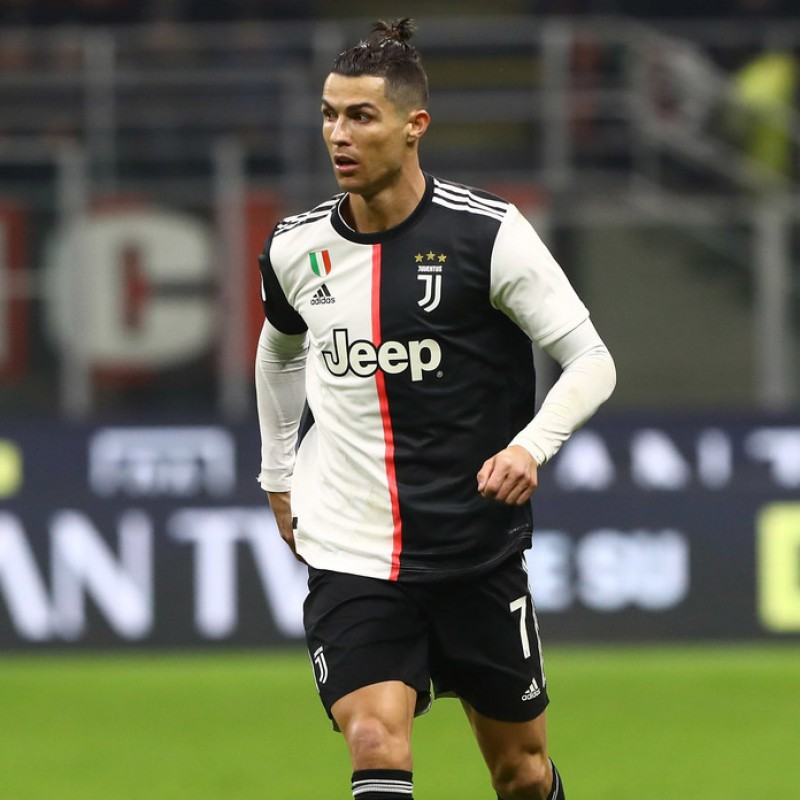 Official Serie A 2019/20 Football - Signed by Cristiano Ronaldo