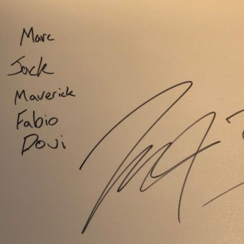 Signed Board of Jack Miller from the First MotoGP Race Weekend of 2020 in Jerez