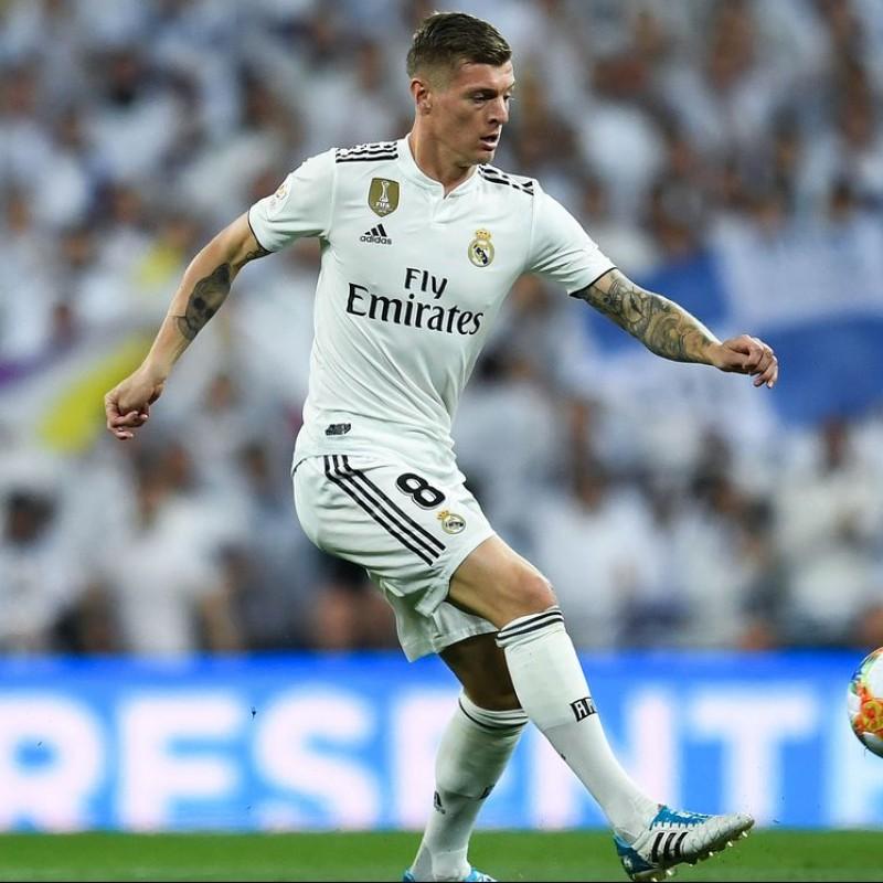 Kroos's Real Madrid Match Shirt, Copa del Rey 2018/19