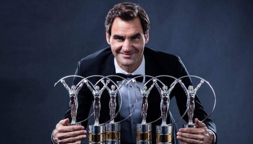 Official Laureus Shirt - Signed by Roger Federer