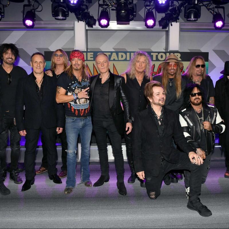 Meet Mötley Crüe With 2 Tickets to Mötley Crüe, Def Leppard, Poison, Joan Jett: The Stadium Tour