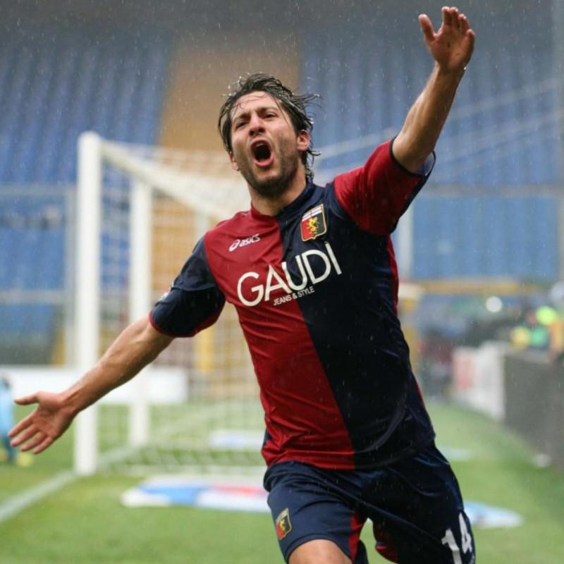 Sculli's Genoa Match Shirt, 2007/08