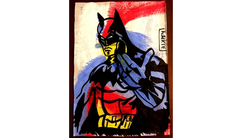 """Batman - Came On"" Original Board by RikPen - Riccardo Penati"
