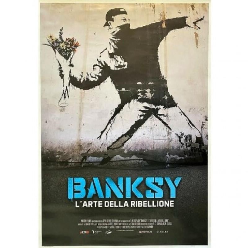 Poster Banksy - L'arte della ribellione