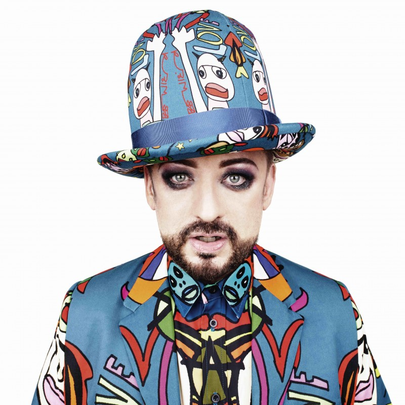 Boy George's Self-Portrait