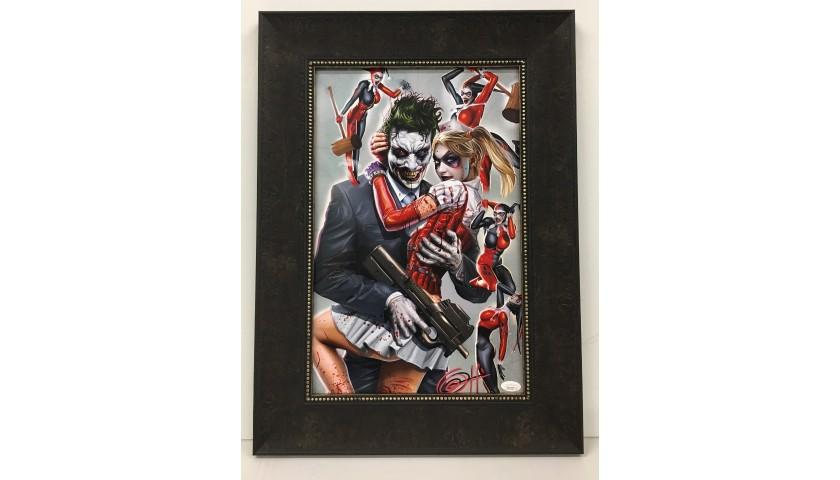 Joker Marvel Artist Greg Horn Hand Signed Print