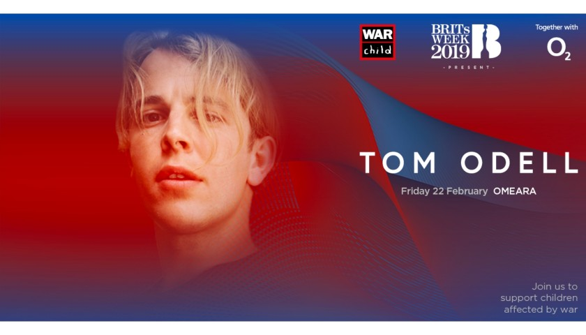 Last 2 Tickets to Tom Odell Concert in London - Auction 2