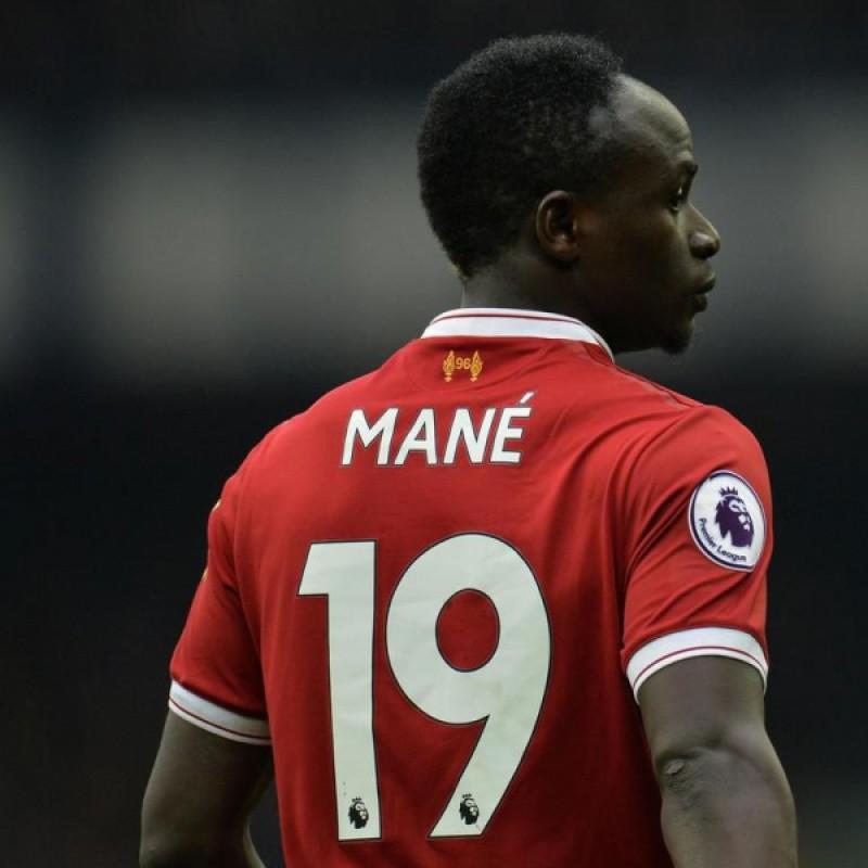 148ba3d72 Sadio Mané Signed 18 19 Liverpool FC Home Shirt