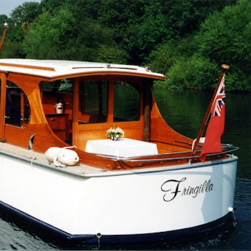 Henley Regatta Vintage Steam Boat Experience for 2 people on Saturday 2nd July 2022