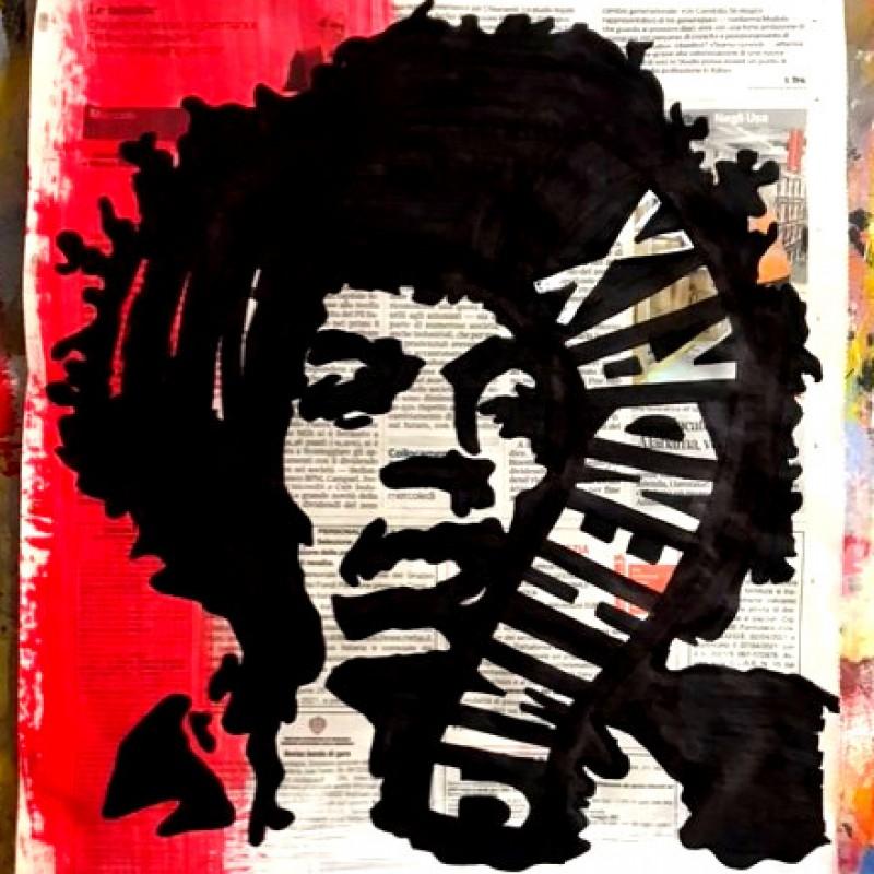 """""""Jimi Hendrix"""" Original Board by Riccardo Penati"""