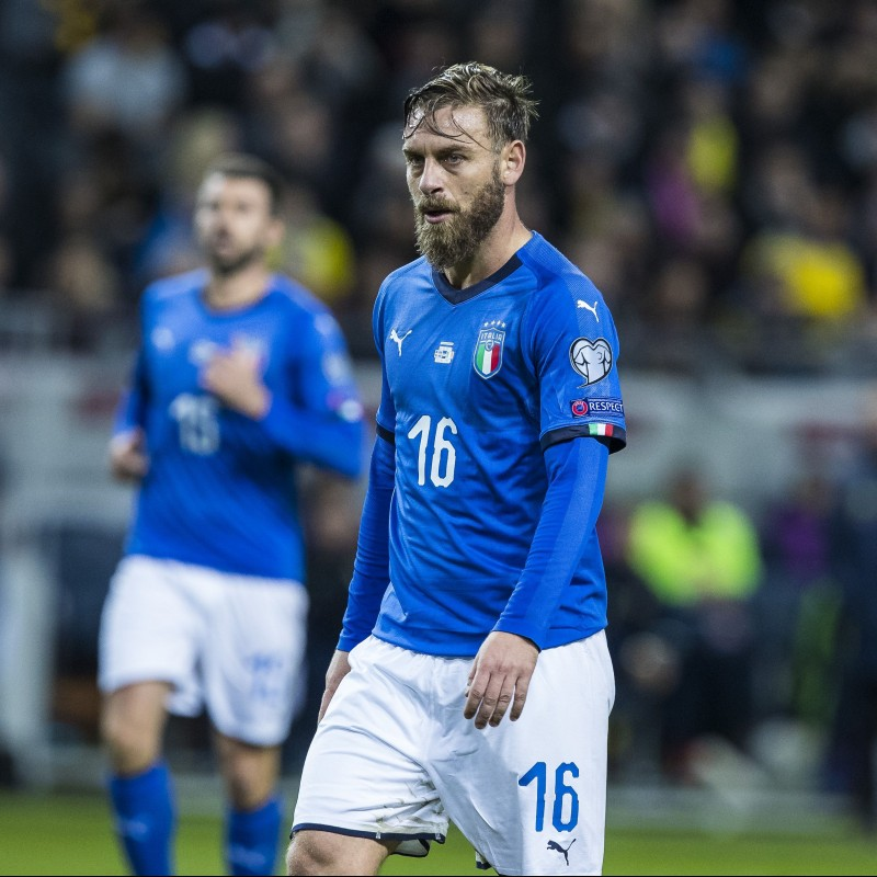 De Rossi's Match Kit, Italy-Sweden 2017