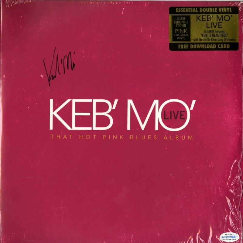 Keb Mo Hand Signed Record Album