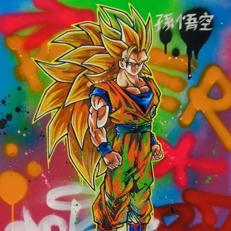 Son Goku Ssj3 - The Essence is Power by Hipo