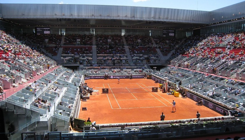 Attend the 2018 Mutua Madrid Open in May