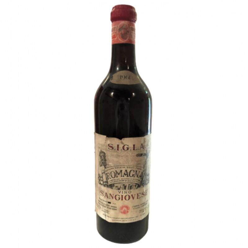 Bottle of Sangiovese, 1961- S.I.G.L.A
