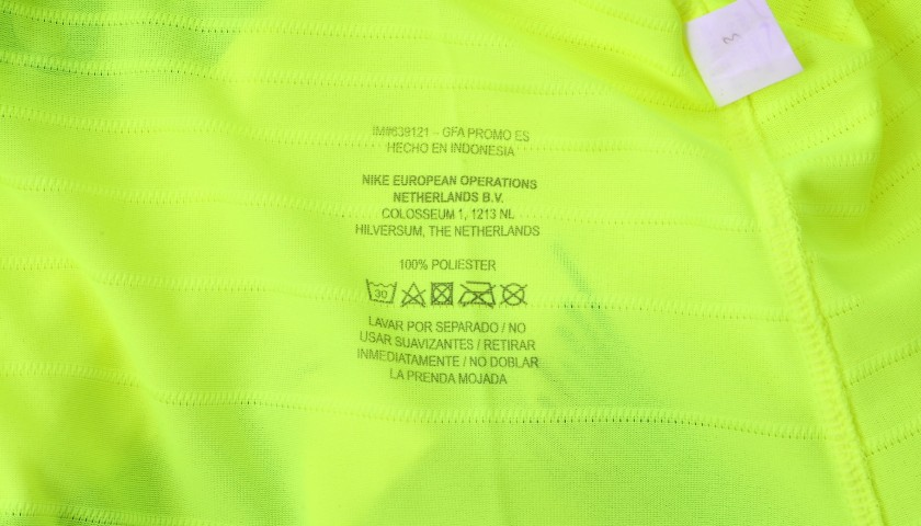 Jordi Alba's Match Shirt, PSV-Barcelona 2018