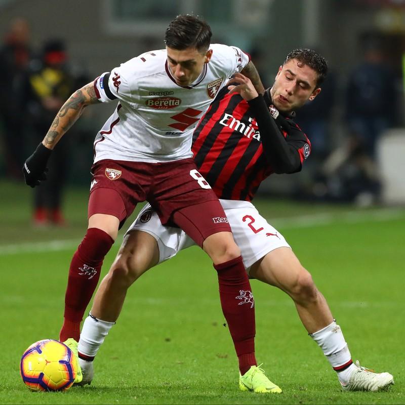 Baselli's Torino Match-Issue Signed Shirt, 2018/19