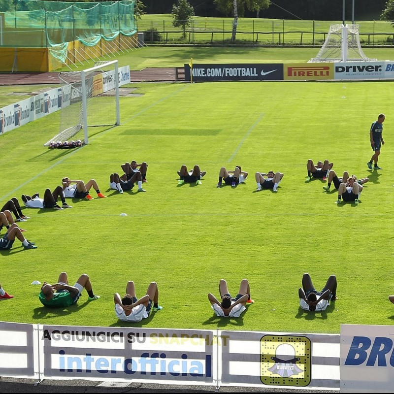Watch Inter Practice from VIP Area and Meet Players - July 14