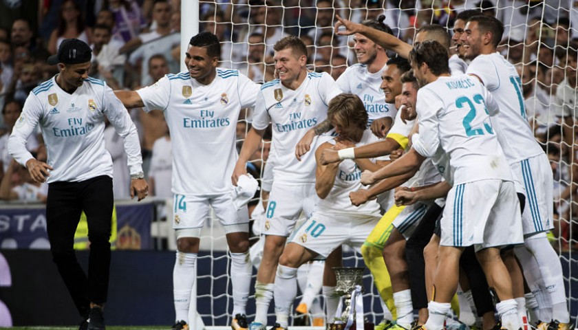 Meet Real Madrid and See Them Take On  Juventus