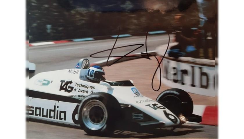 Photograph Signed by Keke Rosberg
