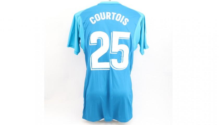 Courtois' Real Madrid Match Shirt, Liga 2018/19 - CharityStars