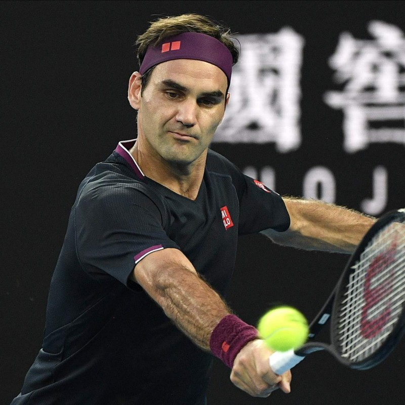 Tennis Ball Signed by Roger Federer
