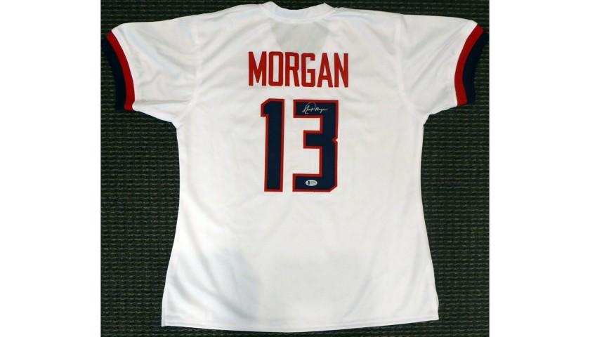 Alex Morgan Hand Signed Team USA Jersey