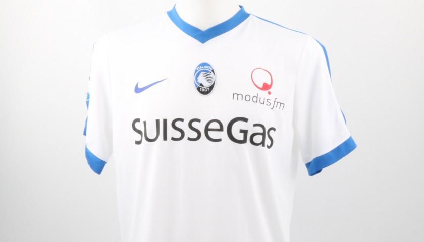 Conti Atalanta Match Worn Shirt, Serie A 2016/17