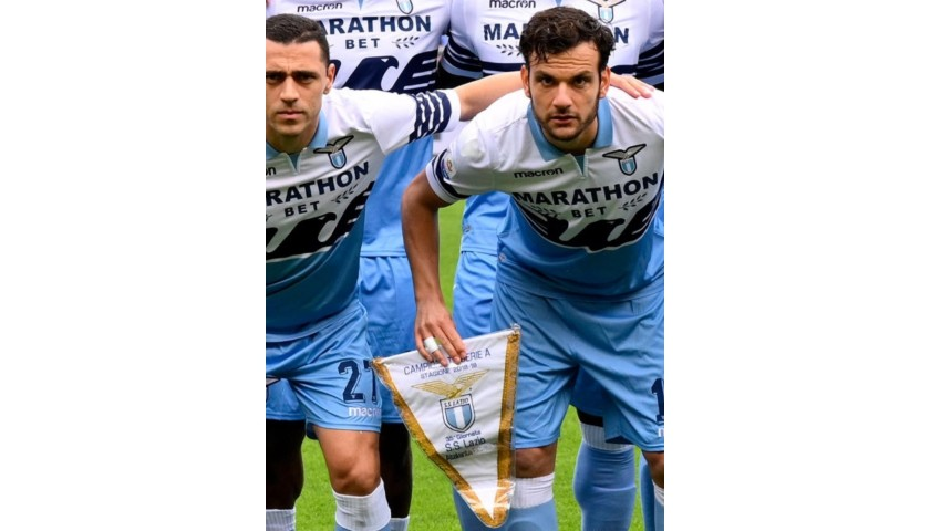 Official Pennant Lazio-Atalanta 2019