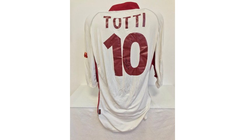 Totti's Official Roma Signed Shirt, 2001/02