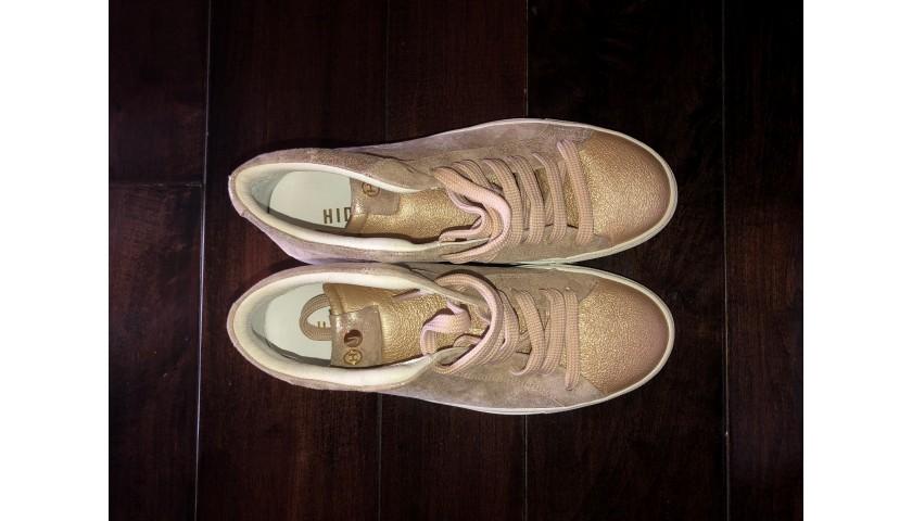 Avril's Signed Hide & Jack Shoes