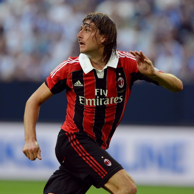 Acerbi's Official AC Milan Signed Shirt, 2012/13