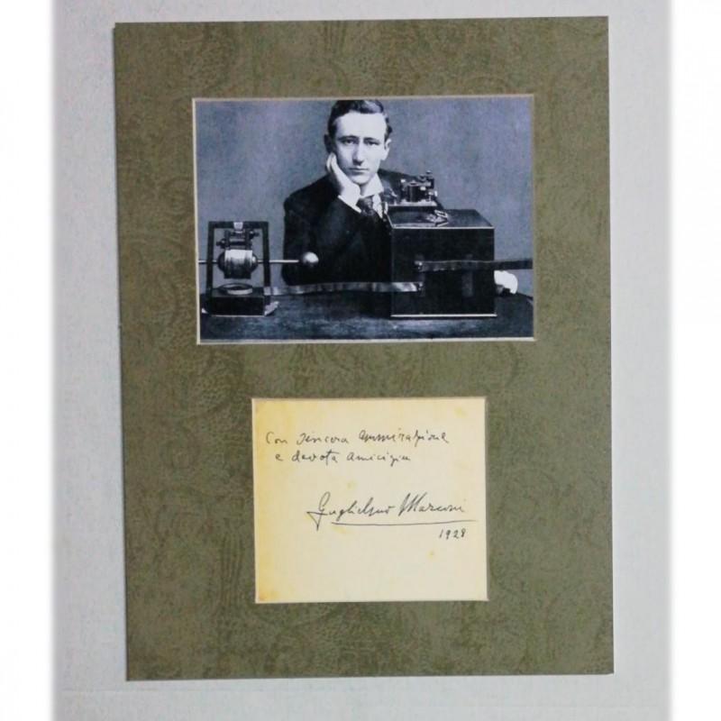 Guglielmo Marconi's Autograph