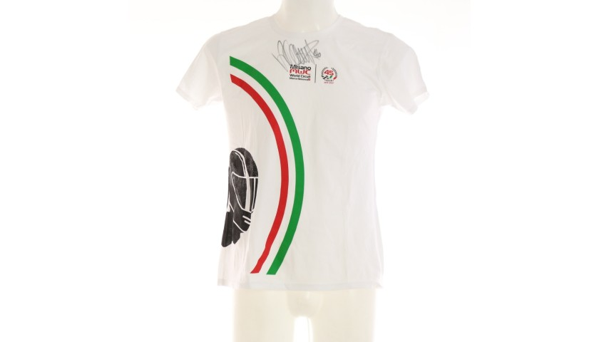 Official Misano T-Shirt - Signed by Valentino Rossi