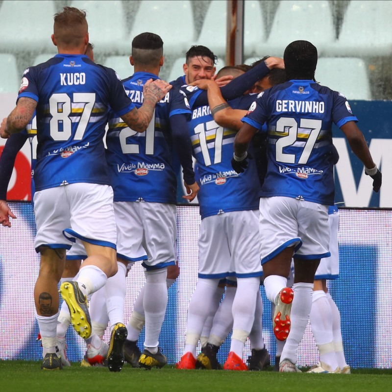 Rigoni's Worn Shirt, Parma-Sampdoria - #Blucrociati