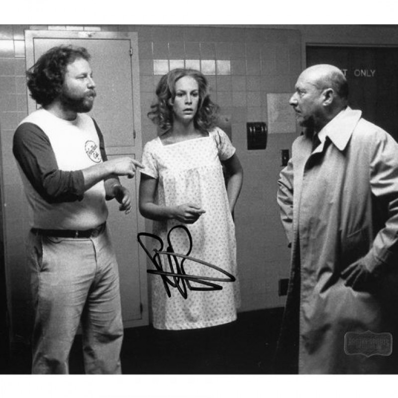 Rick Rosenthal Signed Halloween 2 Photo with Doctor