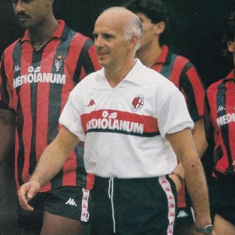 "AC Milan ""Immortali"" Shirt - Signed by Sacchi"