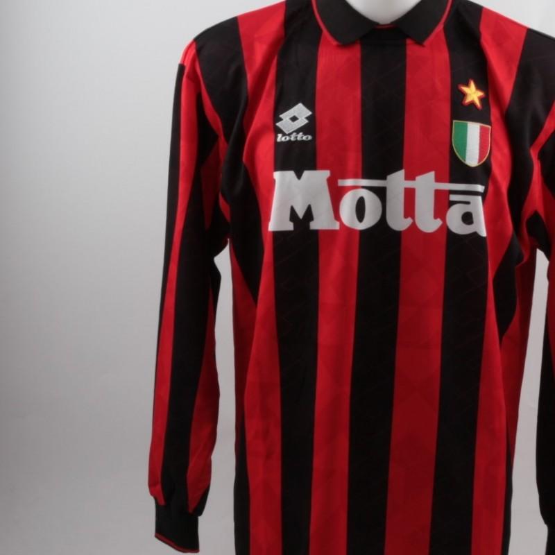 Match worn Massaro shirt, Juventus-Milan 06/03/1994
