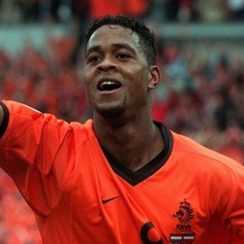 Kluivert's Official Netherlands Signed Shirt, 2000/01