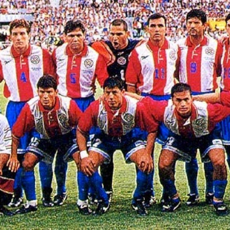 Michelagnoli's Paraguay Match Shirt, 1981 Season