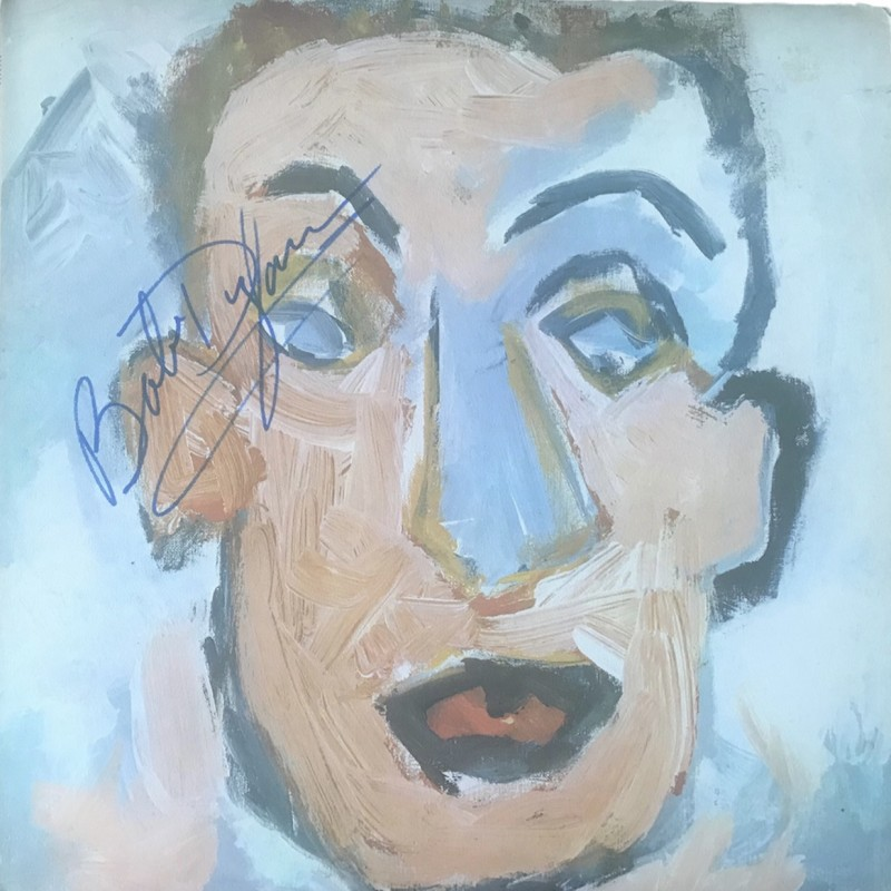 Bob Dylan Signed Self Portrait Vinyl LP