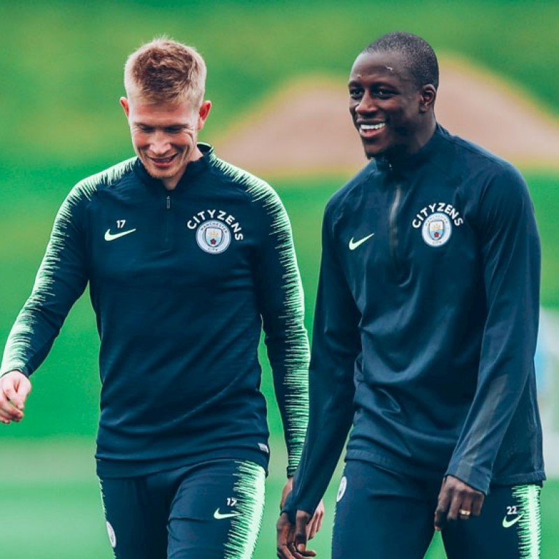 Mendy Worn Technical Training Trousers
