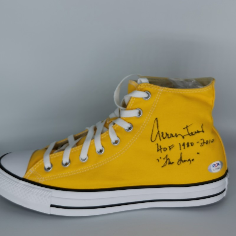 Converse Signed by Jerry West Los Angeles Lakers