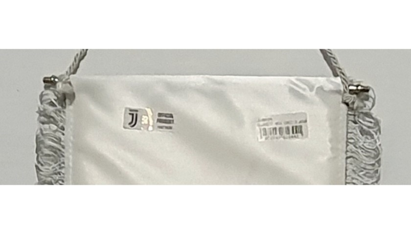Official Juventus Pennant - Signed by Ronaldo and Dybala