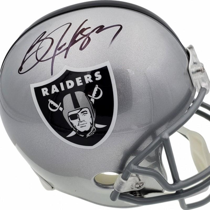 Bo Jackson Signed Full-Size Raiders Helmet