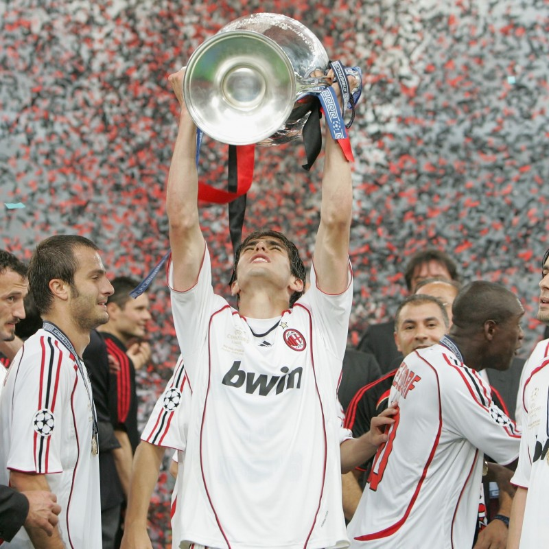 Kaka's Match-Issued Milan-Liverpool Shirt, 2007 Champions League Final